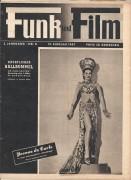 Funk und Film 1947/08: Yvonne de Carlo Cover, Rückseite: Lotte Elwen mit Berichten: Faröer, Maria Eis, Judith Holzmeister, Kärntner Heimatsendung, Hans Albers,