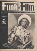 Funk und Film 1947/12: Dale Evans Cover, Rückseite: Jane Russell mit Berichten: Thea Weis, Ravag, Sophie Wilhelm, Axum, Lisi Planner,