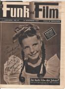 Funk und Film 1947/47: Margaret O´Brien Cover, Rückseite: Marie Dea mit Berichten: Fred W. Murnau, Karl Skraup Danton, Emmerich Schrenk,