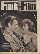 Funk und Film 1949/06: Clark Gable und Claudette Colbert Cover Rückseite: Elisa Cegani mit Berichten: Carltheater, Attila Hörbiger, Paula Wessely, Maria Jeritza, Fasching, Mary Jayne,