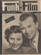 Funk und Film 1949/20: Elfriede Ott und Fritz Lehmann Cover Rückseite: Gale Robbins mit Berichten: Clara Bow, Ballett, Harold Russell, Hafenmelodie Kirsten Heiberg,