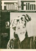 Funk und Film 1947/21: Ann Miller Cover Rückseite: Jean Marais mit Berichten: Der Weg zum Himmel, Leo Slezak, Hortense Raky, Florenz, Emmerich Arleth, Jodler und Sänger,