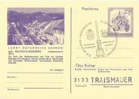 2,50 S. Ganzsache Landschaft 8530 Deutschlandsberg mit Sonderstempel Eibiswald 14.8.1977