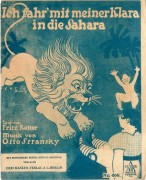 Ich fahr mit meiner Klara in die Sahara ( Fritz Rotter ) ( Otto Stransky )