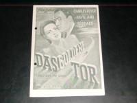 126: Das goldene Tor,  Charles Boyer,  Olivia de Havilland,