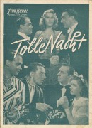 143: Tolle Nacht ( Theo Lingen ) Marte Harell, Gustav Fröhlich, Theo Lingen, Hansi Arnstädt, Marina Ried