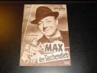 6046: Max der Taschendieb,  Heinz Rühmann,  Hans Clarin,