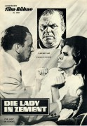 Die Lady in Zement ( The Lady in Cement ) ( Gordon Douglas ) Frank Sinatra, Raquel Welch, Richard Conte, Martin Gabel, Lainie Kazan, Pat Henry, Dan Blocker, Virginia Wood,