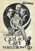 8066: Das Go-Go Girl vom BlowUp ( Rolf Olsen ) Eddi Arent, Gunther Philipp, Beppo Brem, James Graser, Ann Smyrner, Uschi Mood, Fritz Wepper, Helga Lehner, Monika Lundi,