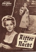 5072: Ritter der Nacht ( Andre Hunebelle ) Jean Marais, Sabina Sesselmann, Bourvil, Francois Chaumette, Hubert Noel, Jean Le Poulain, Paulette Dubost, Tamiz