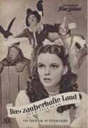 956: Das zauberhafte Land ( The Wizard of Oz )  Judy Garland, Frank Morgan, Ray Bolger, Bert Lahr, Jack Haley, Margaret Hamilton,