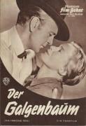 4986: Der Galgenbaum ( Delmer Daves ) Gary Cooper, Maria Schell, Karl Malden, George C. Scott, Karl Swenson, Virginia Gregg, John Dierkes, King Donovan, Ben Piazza