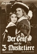 3072: Der Graf und die 3 Musketiere ( Fernando Cerchio ) Georges Marchal, Dawn Addams, Jacques Dumesnil, Franco Silva, Florence Arnaud, Robert Burnier,  Andre Falcon, Philippe Olive, Nico Peppe, Nicolas Amato, Roger Bantemps, Marcel Charvey, Jean Clarleux