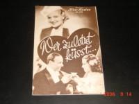 1311: Wer zuletzt küsst...  Heinz Rühmann  Hans Moser