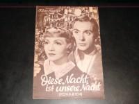 1945: Diese Nacht ist unsere Nacht  Claudette Colbert