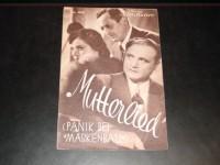 1946: Mutterlied, Benjamino Gigli, Maria Cebotari, Hans Moser, Peter Bosse, Michael Bohnen, Hilde Hildebrand, Josef Dahmen,
