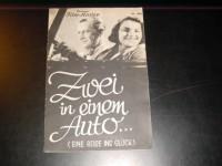 IFK: Nr: 406 :  Zwei in einem Auto Magda Schneider  Kurt Gerron