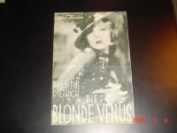 IFK: 504: Die blonde Venus  Marlene Dietrich  Cary Grant