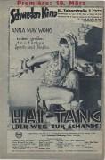 IFK: Nr: 59 :  Hai Tang  (Schande)  ( Premieren Ausgabe ROT !! )Anna May Wong  Franz Lederer