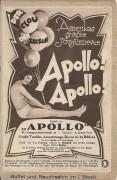 Film im Bild 00 : a: Apollo ! Apollo ! Con Conrad, Sidney D. Mitchell, Archie Gottler, Große Tonfilm Austattungs Revue !