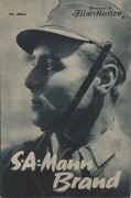 1964: S.A. - Mann Brand  ( grün ) ( erster deutscher S. A. Film ) Otto Wernicke, Elise Aulinger, Joe Stöckel, Heinz Klingenberg,