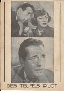 470: Des Teufels Pilot,  Humphrey Bogart,  Elenor Parker ( Schrift Variante ! )