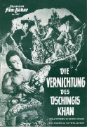 7057: Die Vernichtung des Dschingis Khan ( Domenico Paolella ) Mark Forest, Jose Greci, Ken Clarke, Gloria Milland, Renato Baldini, Mirko Ellis, Roldano Lupi