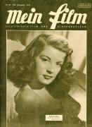 Mein Film 1949/20: Barbara Bates Cover, Rückseite: Spencer Tracy mit Berichten: Rolf Hansen, Clown Antonio Hans Richter, Ida Russka, Cyd Charisse,
