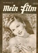 Mein Film 1949/33: Joan Fontaine Cover, Rückseite: Ava Gardner mit Berichten: Salzburg, Wolfgangsee, Ernst W. Borchert, Greta Gonda, Peter Lorre,