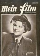 Mein Film 1949/40: Paula Wessely Cover, Rückseite: Richard Häussler und Winnie Markus mit Berichten: Elfe Gerhart, Silvana Mangano, Fernandel, Fred Liewehr, Maurice Chevalier,