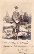 Jäger,  ca 1900,  ( Fotographie )