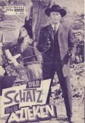 Der Schatz der Azteken ( Karl May )  ( VIOLETT )  ( NFP. Wien )  Lex Barker, Gerard Barray, Michele Girardon, Ralf Wolter, Rik Battaglia, Hans Nielsen, Gustavo Rojo, Friedrich von Ledebur,