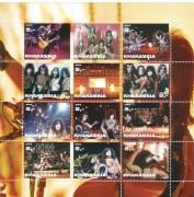 Khakassia 2003:  Kiss  Riesenblock  Postfrisch **