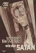 Ein Weib wie der Satan ( Julien Duvivier ) Brigitte Bardot, Antonio Vilar, Espanita Cortez, Michel Roux, Lila Kedrova, Jacques Mauclair, Dario Moreno, Jess Hahn, Claude Goddard, Germaine Michel, Rivers Cadet