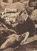 Einen Sommer lang ( Ingmar Bergman ) Maj Britt Nilsson, Birger Malmsten, Alf Kjellin,