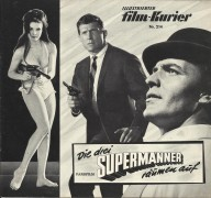 214: Die drei Supermänner räumen auf,  Tony Kendall,