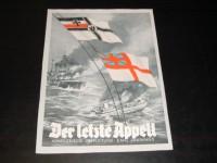 Der letzte Appell  ( Emil Jannings )  Marine Klein Plakat