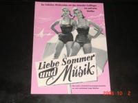 Liebe Sommer und Musik,  Isa und Jutta Günther,