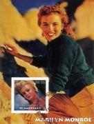 Mauritanie 2003:  500 UM  Marilyn Monroe  mit  Sonderstempel,
