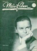 "Mein Film 1945/05: November Hans Holt Cover, Rückseite: Lawrence Olivier & Renee Asherson mit Berichten: Charles Laughton ( Rembrand ) Heinrich V. Rudolf Prack, Filmschule, Charles Chaplin "" Der große Diktator """