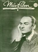 Mein Film 1945/01: Oktober Willi Forst Cover, mit Berichten: Soldaten G.I.Joe, Iwan der Schreckliche, Stephansdom, Shirley Temple, Jean Gabin,