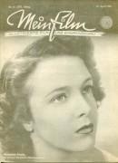 Mein Film 1946/16: Micheline Presle Cover, mit Berichten: Hans Moser, Brigitte Horney, Frankreich, Karl Lapka, Elfie Mayerhofer,