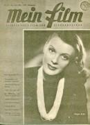 Mein Film 1946/24: Inge List Cover, mit Berichten: Maurice Chevalier, Diana Wynyard, Margaret Lockwood, Charles Boyer, Katharine Hepburn, King Kong ( Doppelseite )