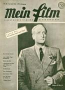 Mein Film 1946/25: Hans Albers Cover, mit Berichten: Maria Eis, Kurt Nachmann, Bing Crosby, Willi Forst Bel Ami,