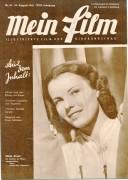 Mein Film 1947/35: Hilde Krahl Cover, Rückseite: Sängerknaben usw.. mit Berichten: Franz Schubert, Yankee Doodle Dandy James Cagney, Anna und der König von Siam,