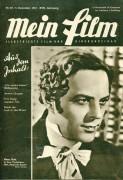 Mein Film 1947/49: Hans Holt Cover, Rückseite: Maureen O´Hara mit Berichten: Pußte Aglaja Schmidt, Stewart Granger, Fritz Lang, Joan Bennet,