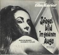 215: Spiegelbild im goldenen Auge, Marlon Brando, Elisabeth Taylor, Brian Keith, Julie Harris, Robert Forster,