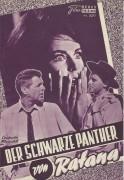 3077: schwarze Panther von Ratana (Jügen Roland) Horst Frank,  Brad Harris, Marianne Koch, Heinz Drache, Luciana Gilli, Dorothee Parker, Carlo Tamberlani