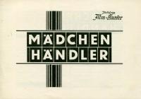143: Mädchen Händler,  Erich von Stroheim,  Maurice Chevalier,