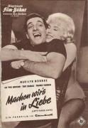 5505: Machen wirs in Liebe ( lets make love ) Marilyn Monroe, Yves Montand, Tony Randall, Wilfrid Hyde White,